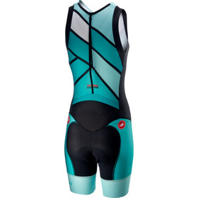 Castelli Short Distance Strój startowy Kobiety, turquoise/green